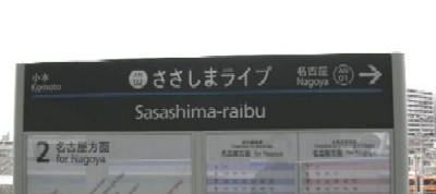 駅名標ローマ字表記に注目